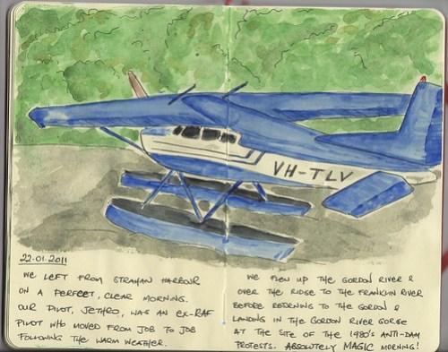 Strahan seaplane adventure