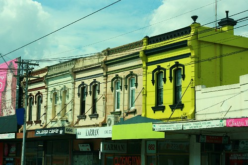 Buildings on Sydney Road, Melbourne