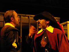 Alejandro Bueno y Federico Vergne en Cyrano de...
