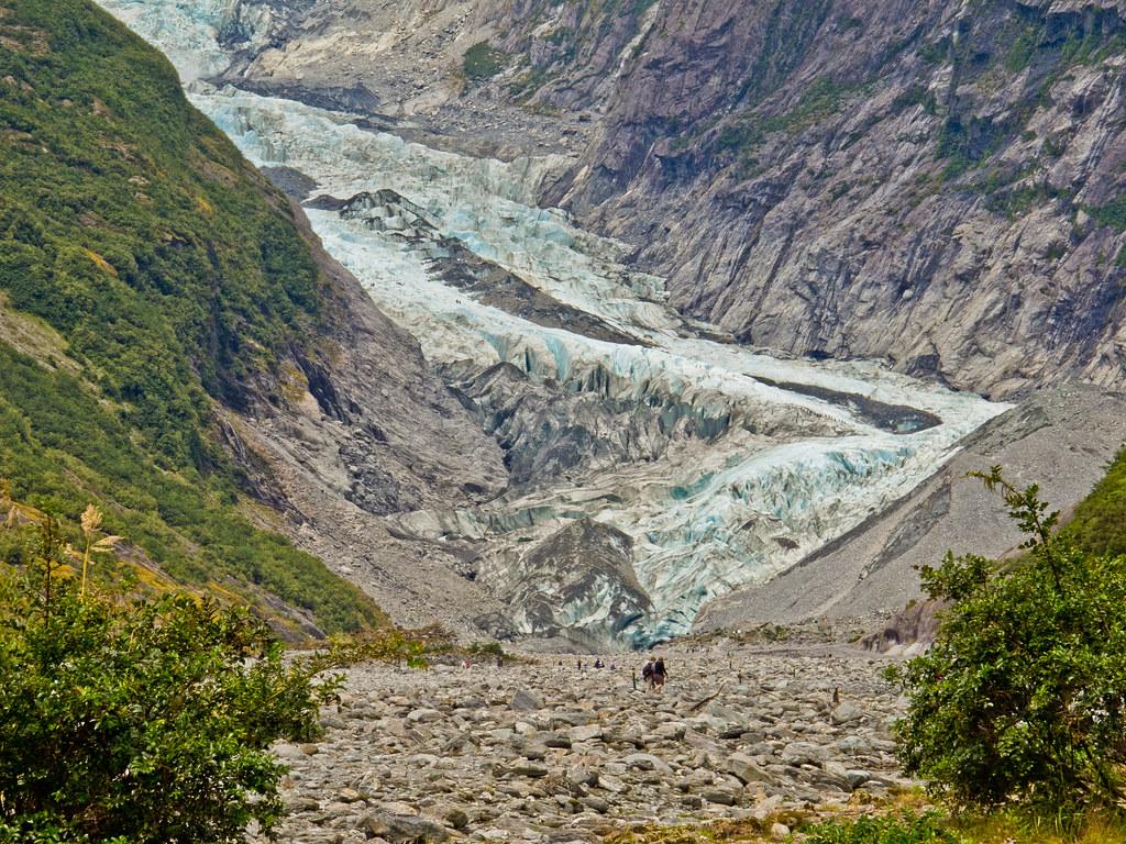 The Frans Joseph Glacier