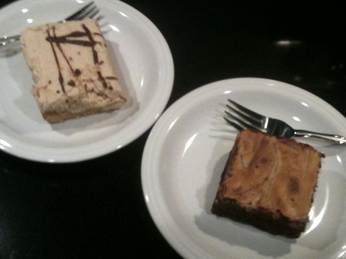 Peanut Butter Pie and Cheesecake Swirl Brownie
