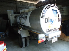 Our new 1,000-gallon water truck