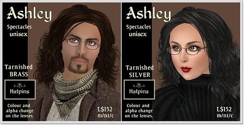 Hatpins - Ashley Unisex Spectacles