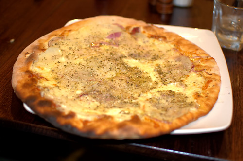 Potato and Onion Pizza