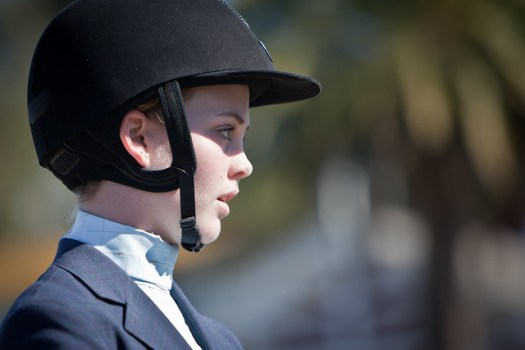 Serious - Stanford Horse Show - by Scott Loftesness