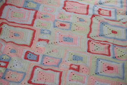 FO: Babette Blanket (3/4)