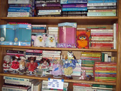 Bookshelf of horrors