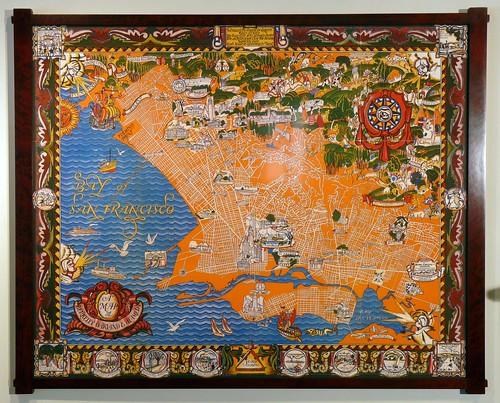 East Bay Antique Map P1010839