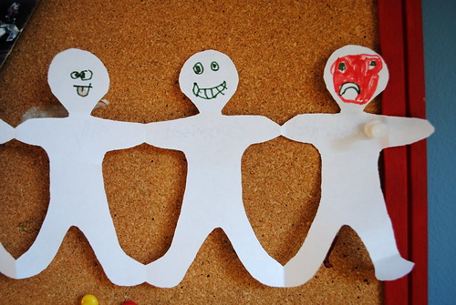 Emotion People Paper Chain