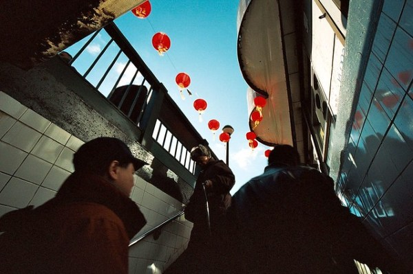 Chinese New Year Red Lanterns, Flushing (Bessa-L)