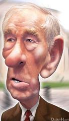 Ron Paul - Caricature