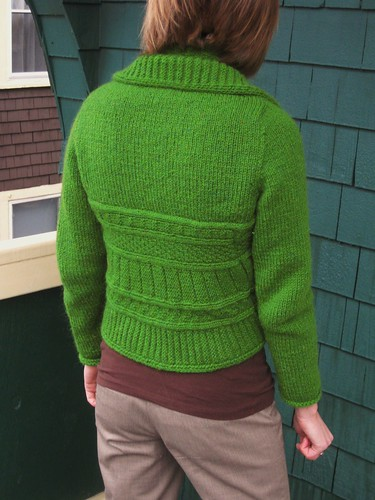 the lucky green sweater