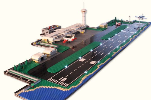 Micropolis Airport Dusk
