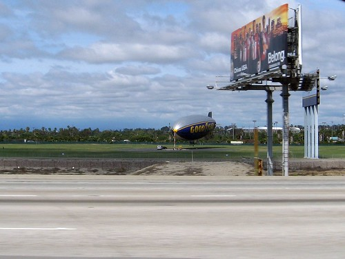 goodyear blimp in its native habitat!