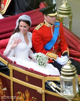 Royal Wedding of William and Catherine Duke & Duchess of Cambridge