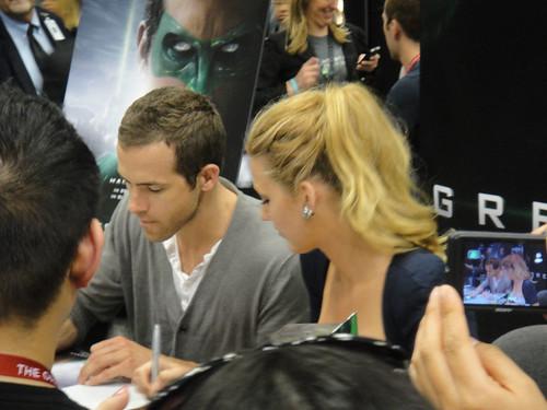 WonderCon 2011 - Ryan Reynolds and Blake Livel...