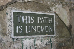 This Path is Uneven