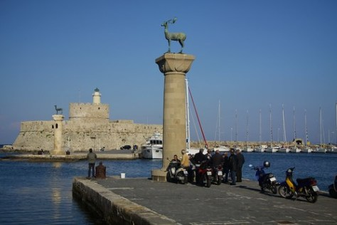 Location of the Colossus of Rhodes