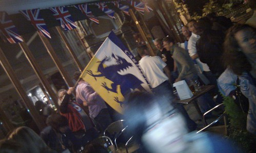 Royal Wedding celebrations at the Robin Hood