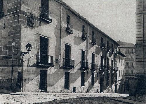 1928.Casa de Iván de Vargas en la Costanilla de San Justo (Doctor Letamendi)