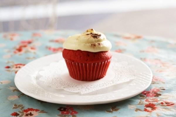 Red Velvet Cupcake from Sonja's Cupcakes