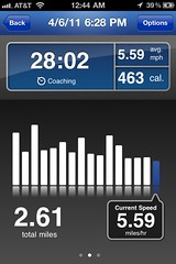 RunKeeper, Session 1, Screen 2