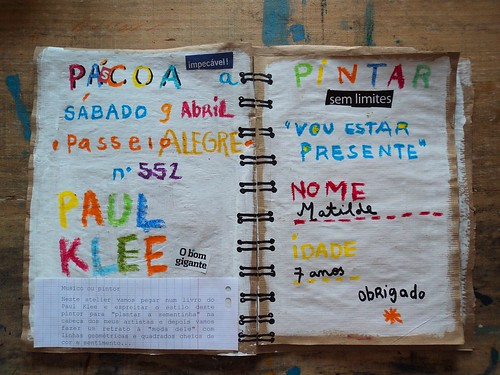 Ateliers na Pascoa / Easter workshops