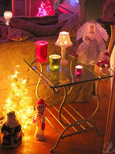 Candles & Xmas lights