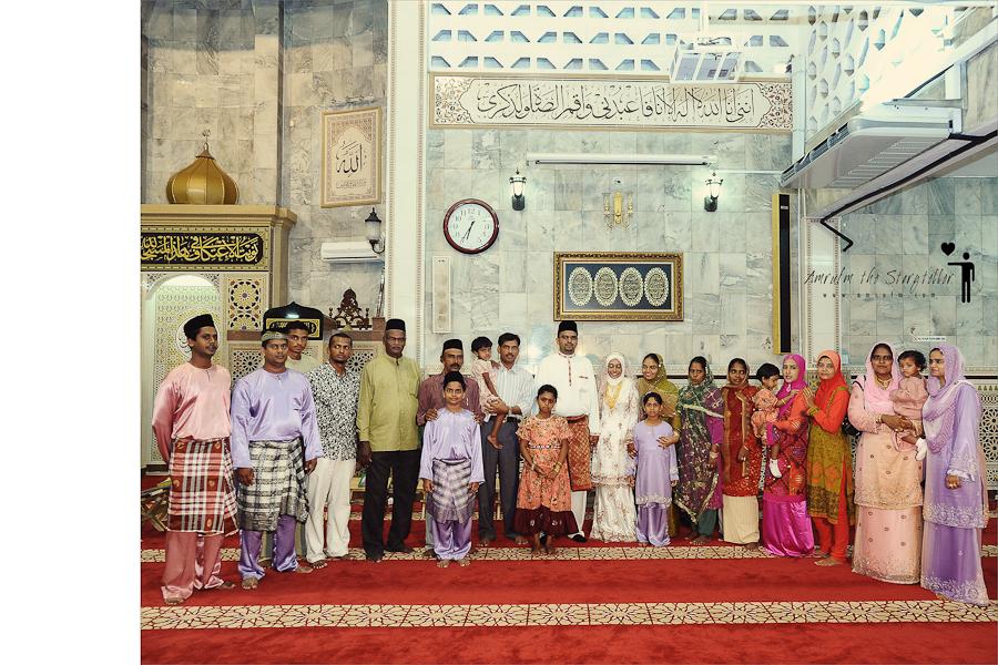 Faizal & Shafarina Nikah-11