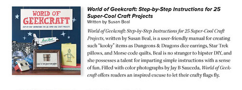 World of Geekcraft review in Lonny Magazine!