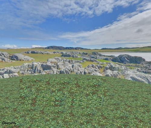 Two Moon Panoramics - Wild Scottish Coast (2)