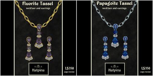 Hatpins - Tassel Jewelry Sets