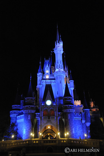 The Castle at night. 東京ディズニーランド, Tokyo Disneyland