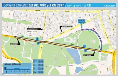 Carrera Dia del Niño Banamex 5K