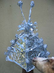 Dainty &Tinfoil hat by Aiselle A T Gabegie
