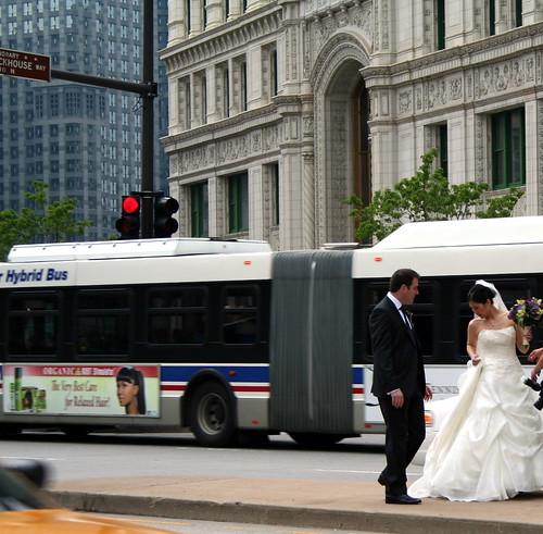 Bride in Chicago