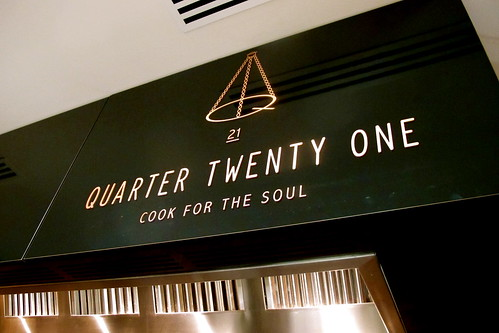 Quarter Twenty-One Cooking School