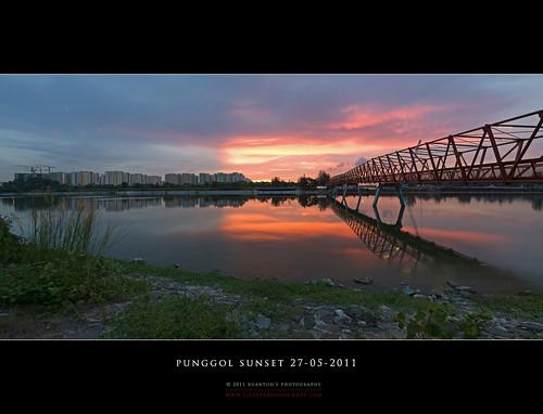 Punggol Sunset Pano #3