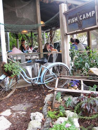 Exterior of Owen's Fish Camp, Sarasota, Fla.