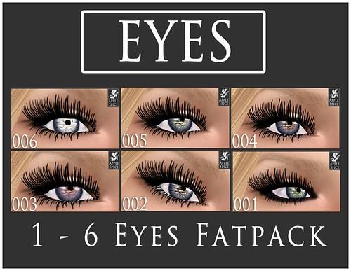 Apple Spice - Eyes 1 -6