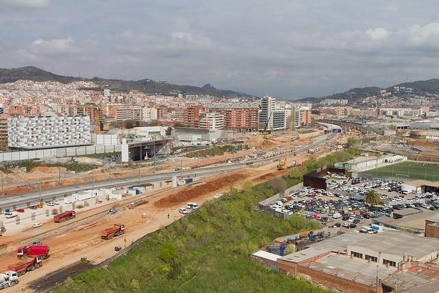 Zona Ronda Sant Martí - Sant Andreu - 30-03-11