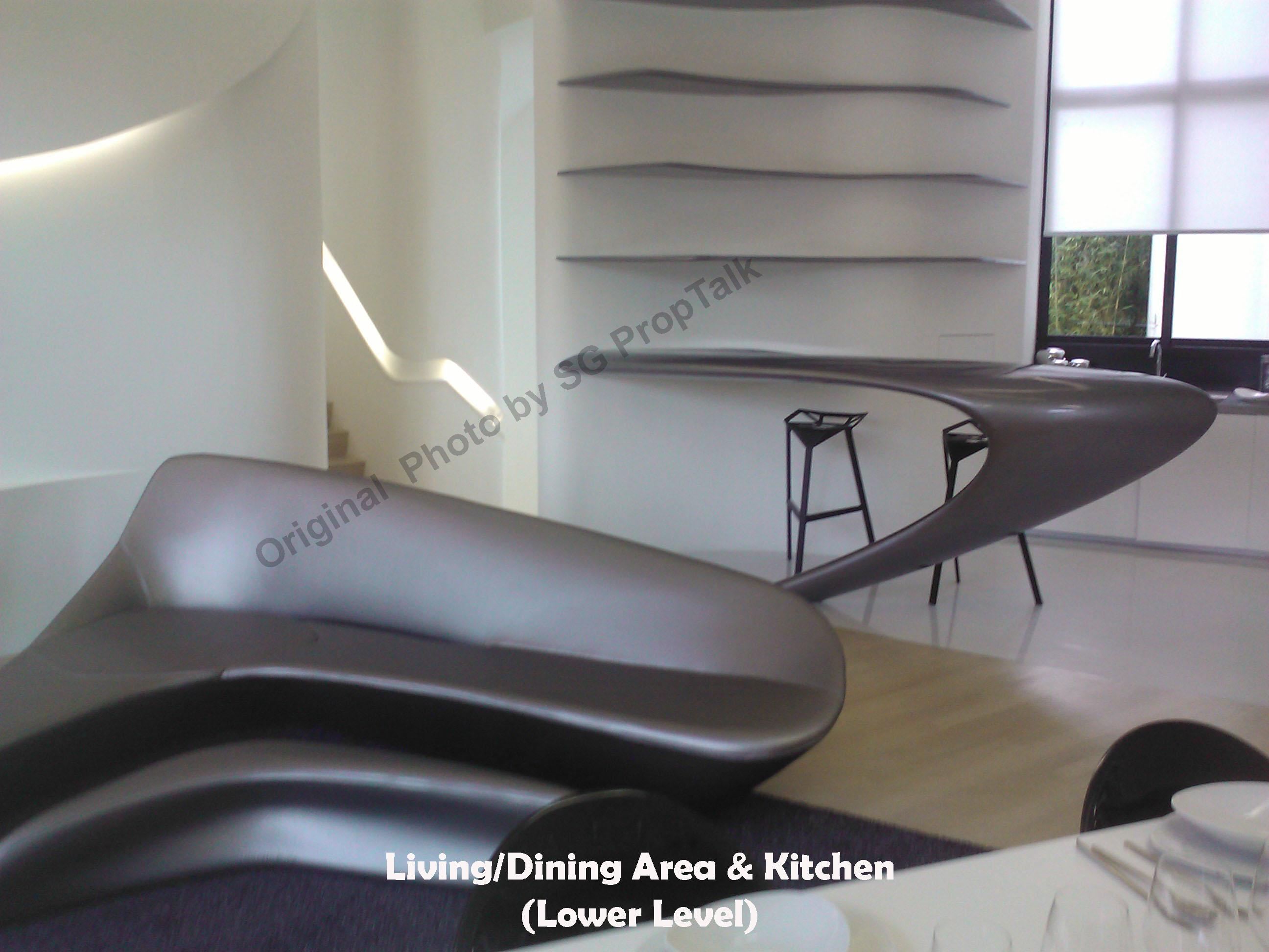 Garden villas at d leedon - Living Kitchen