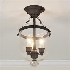 smokebell ceiling lantern shades of light