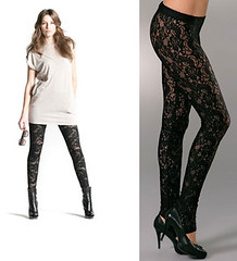Leggings con Encaje: Leggings Sexys y Modernos