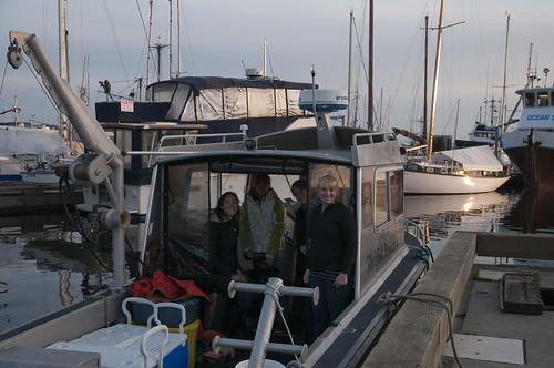 Crew at dawn