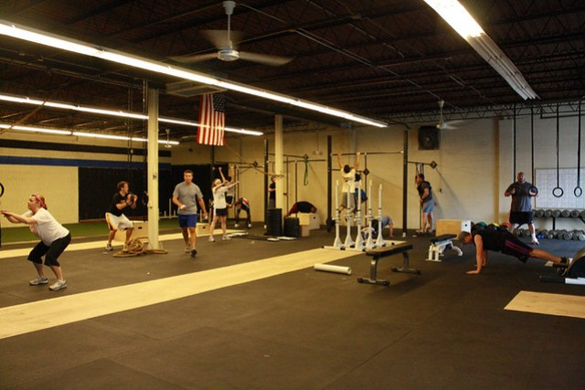 "Working through ""Murph"" Hero WOD"