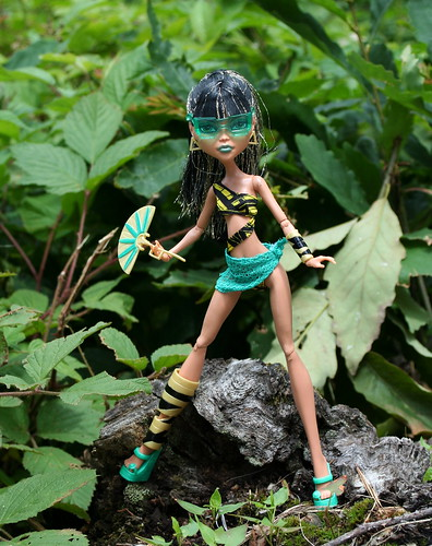 Monster High's Gloom Beach Cleo deNile