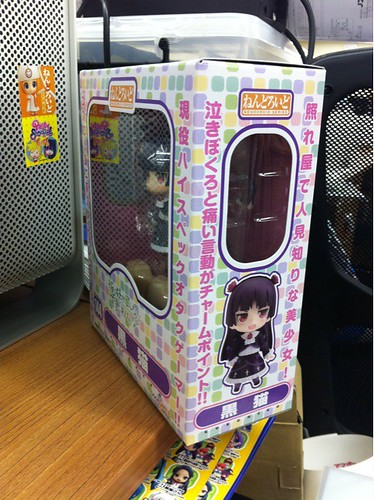 Box of Nendoroid Kuroneko