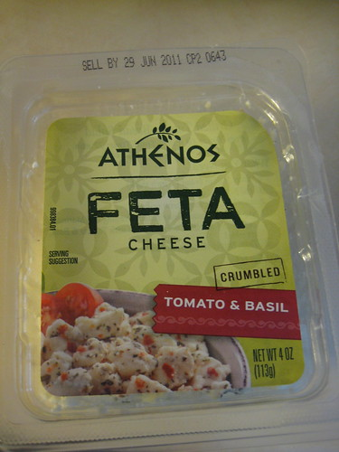 athenos feta cheese tomato and basil