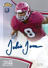 2011 Topps Finest Football Autograph RC